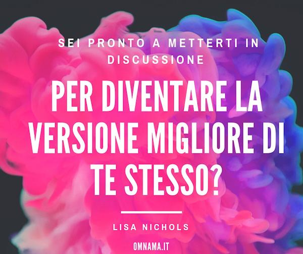 Lisa Nichols Mindvalley Italy